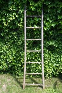 échelle de jardin en bois vintage Rouge Garden