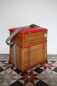 ancien-panier-tabouret-banc-de-peche-annees-50-rouge-garden5