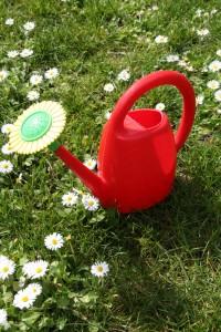 arrosoir enfant jouet vintage Rouge Garden