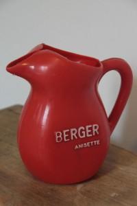 arrosoir pastis BERGER Anisette Rouge Garden