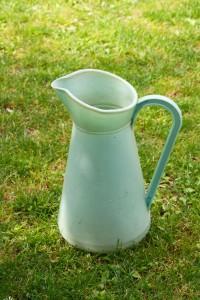 arrosoir plastique vert d'eau Rouge Garden