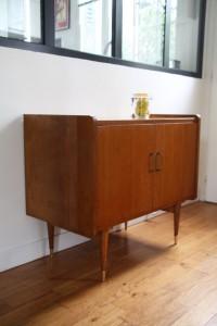 buffet enfilade années 50 mobilier vintage Rouge Garden