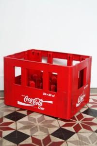 caisse porte bouteilles coca cola