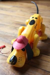 chien Rufo playskool jouet vintage Rouge Garden