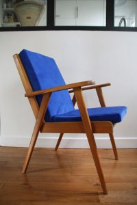 fauteuil-scandinave-annees-50-rou