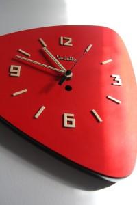 horloge formica vintage Rouge Garden