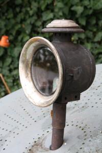 lampe calèche jardin vintage Rouge Garden