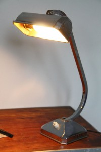lampe pirouette années 30 Rouge Garden