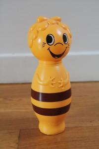 maya l'abeille jeu jouet vintage 1977 Rouge Garden