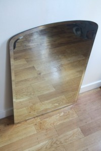 miroir ancien biseauté années 50 mobilier vintage Rouge Garden