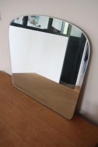 miroir rétroviseur mobilier vintage années 50 Rouge Garden