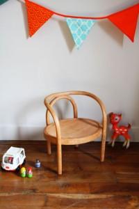 petite chaise Baumann Rouge Garden