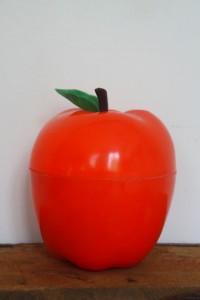 pomme glaçon vintage Rouge Garden