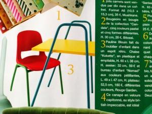 Rouge Garden dans Marie Claire idées mai juin 2014