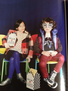 Rouge Garden dans Milk Magazine