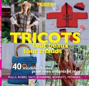 Rouge Garden dans la presse Hors série Tricots Mode & travaux