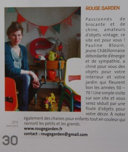 rouge garden presse magazine chatillon