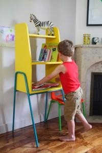 Bibliotheque étagère vintage enfant Kiosk  Kokette Rouge Garden