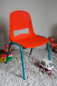 Kokette chaise enfant de Rouge Garden